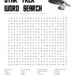 Star Trek Word Search Puzzle