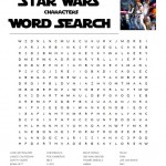 Star Wars Characters Word Search