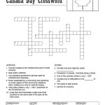 Canada Day Crossword