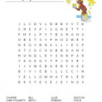 Curious George Word Search
