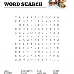 Paw Patrol Word Search