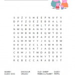 Peppa Pig Word Search