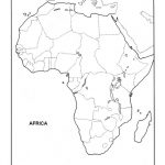 Africa Blank Map