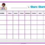 Doc McStuffins Chore Chart