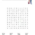 Doc McStuffins Word Search