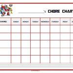 Rescue Bots Chore Chart