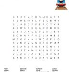 Thomas & Friends Word Search