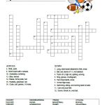 Sports Crossword Puzzle