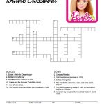 Barbie Crossword Puzzle