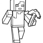 Minecraft Coloring Page