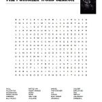 The Punisher Word Search